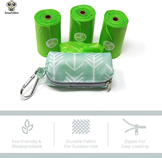 Dispensador de bolsas de pañales ecológico y bolsas de basura ...