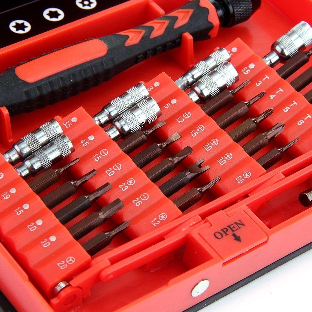Herramientas de precisión Geekbuying de 38 piezas por solo 12,96€