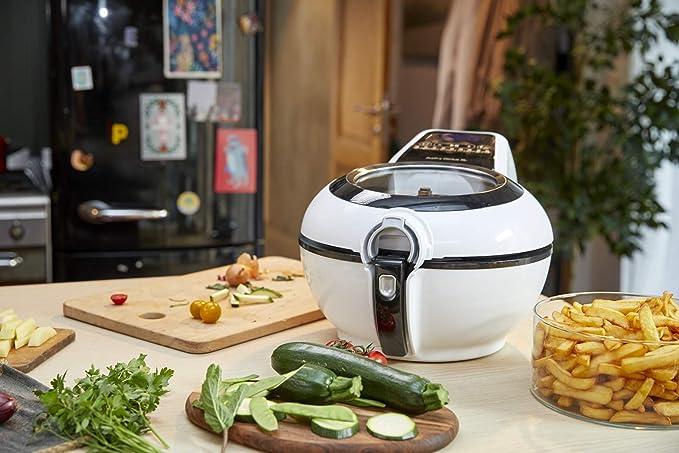Tefal Actifry Genius Snaking FZ761015 - Freidora sin aceite, de aire 1.2 kg, con 9 programas automáticos y accesorio para snacks, panel táctil intuitivo e ...