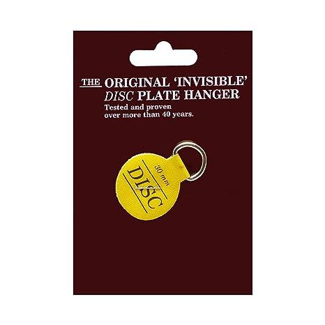 Flatirons Disc Adhesive Plate Hangers 1.25-inch  sc 1 st  Amazon.com & Flatirons Disc Adhesive Plate Hangers 1.25-inch - - Amazon.com