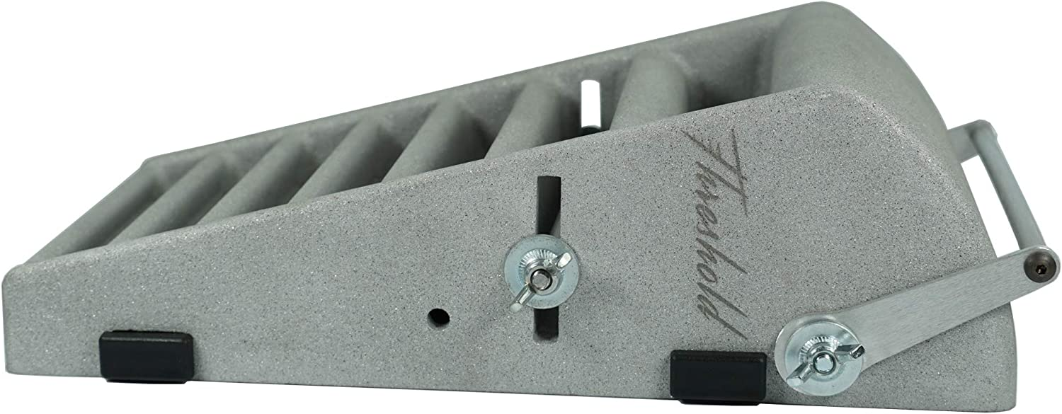 STAUBER Alert Threshold Hangboard Training System Made of 100/% Aluminum Featuring Adjustable Sloper and Ledge Depths