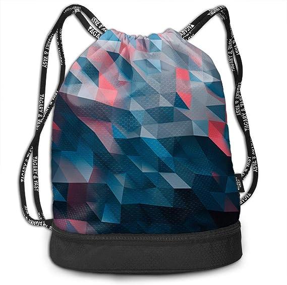 HUOPR5Q Hearts Drawstring Backpack Sport Gym Sack Shoulder Bulk Bag Dance Bag for School Travel