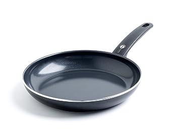 GreenPan Cambridge - Sartén de Aluminio, Color Negro, Aluminio, Negro, 46.5 x 28.8 x 10.4 cm: Amazon.es: Hogar