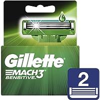 Gillette Mach3 Sensitive Cartuchos Para Afeitar 8 Unidades