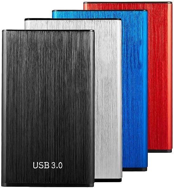 2.5 '' ポータブル外付けハードドライブのUSB 3.0 HDDバックアップストレージ-500GB / 1TB / 2TBモバイルハードディスク用PC、マック、デスクトップ、ラップトップ、WindowsやLinux (Color : Red, Size : 1TB)