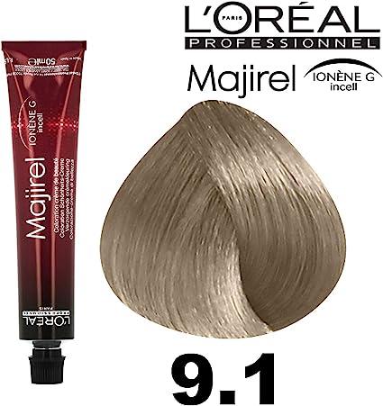 LOreal Professionel MAJIREL Tintura per Capelli 50ml - 9.1 ...