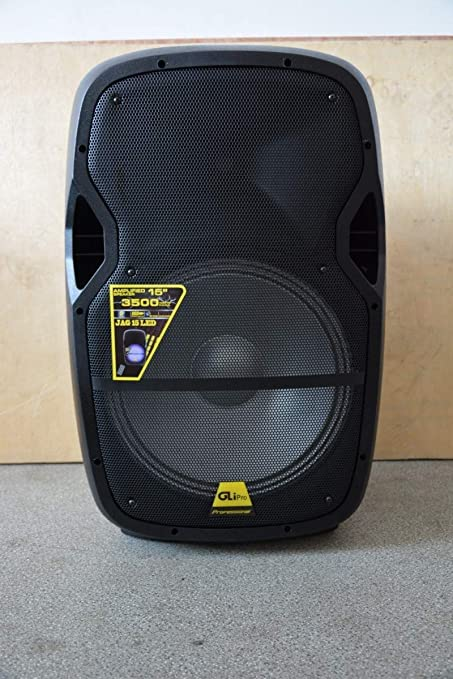 GLi Pro Jag 15 3500W Max Power Speaker with Built-In Bluetooth & LCD/