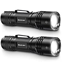 Deals on 2-Pack GearLight Tac LED Tactical Flashlight