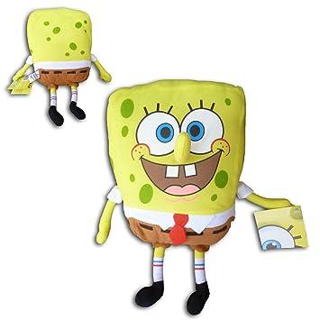 Bob Esponja 30cm Clasico Muñeco Peluche Spongebob Serie TV Suave Dibujos Animados
