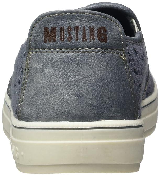 Mustang 1217-404, Mocasines para Mujer, Azul (875 Sky), 36 EU: Amazon.es: Zapatos y complementos