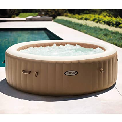 Amazon.com: Intex 28427E PureSpa - Spa, hinchable, 83.9 in ...