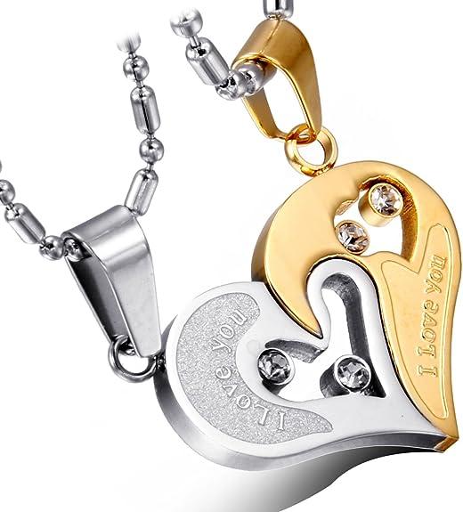dos collares de pareja