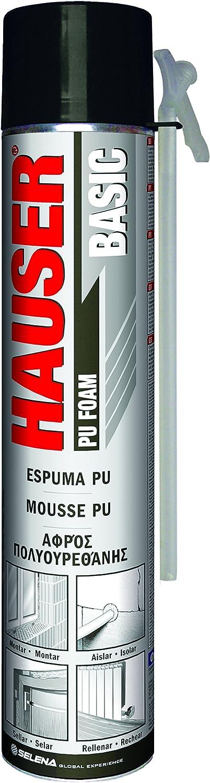 Quilosa T005215 Espuma Hauser Basic Cánula, Beige, 750 ml