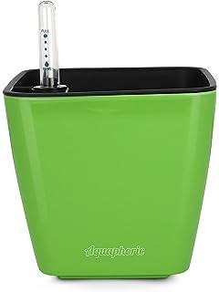 Aquaphoric Self Watering Planter (5u201d) + Fiber Soil U003d Foolproof Indoor Home  Garden