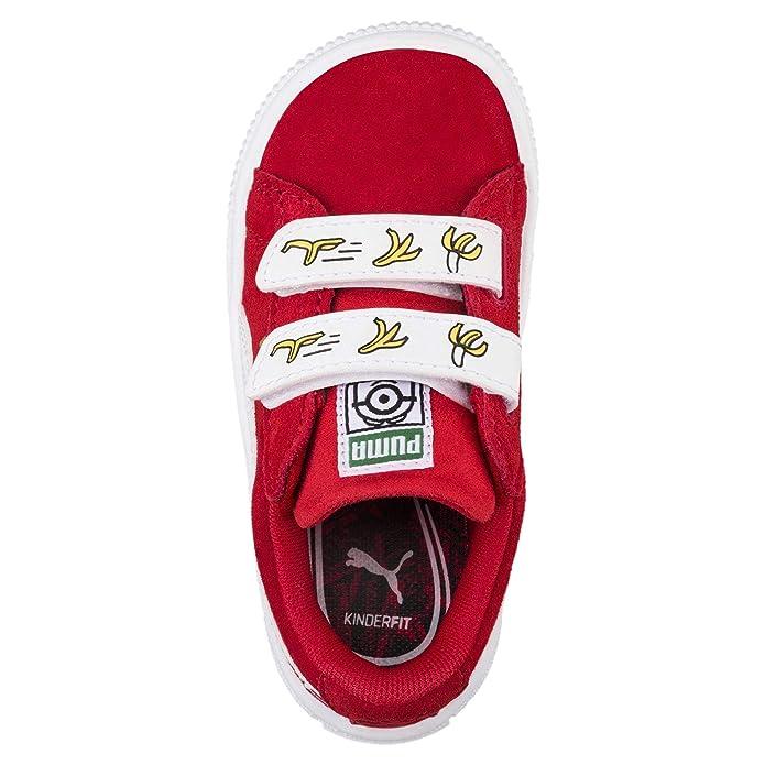 Puma Unisex Kids  Minions Suede V Ps Trainers  Amazon.co.uk  Shoes   Bags 8d6495ab7