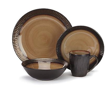 Cuisinart CDST1-S4G3 Stoneware Alba Collection 16-Piece Dinnerware Sets  sc 1 st  Amazon.com & Amazon.com: Cuisinart CDST1-S4G3 Stoneware Alba Collection 16-Piece ...