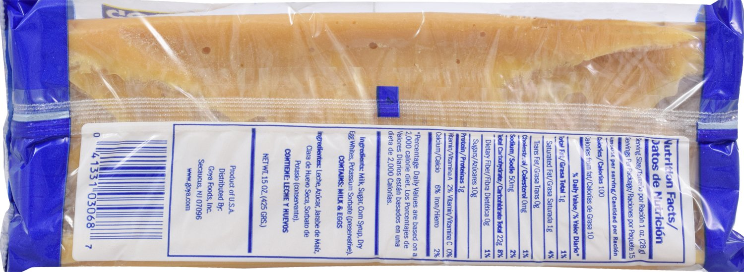 Amazon.com : Goya Foods Dulce De Leche Milk Cream, 15 Ounce (pack of 12) : Grocery & Gourmet Food