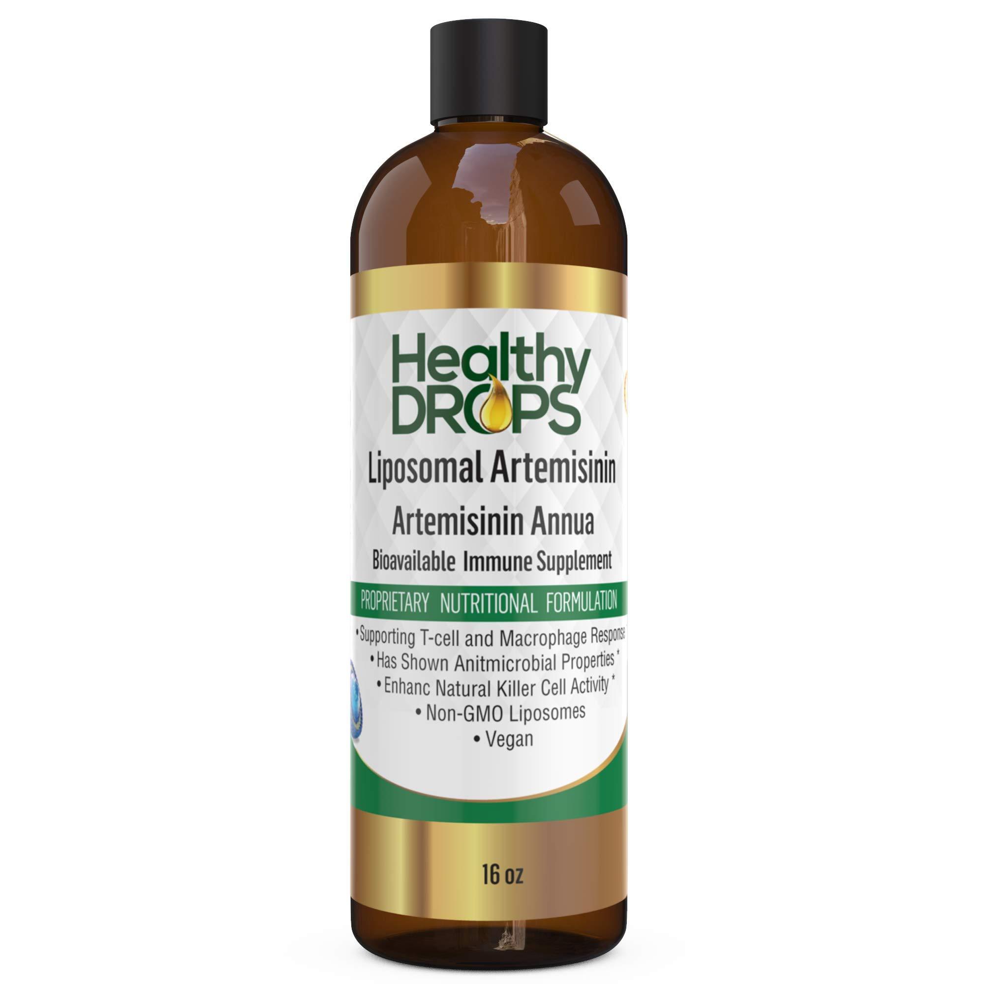 Liposomal Artemisinin 16 oz Non Soy, Non GMO - Most Bioavailable