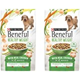 Purina Beneful Healthy Weight With Real Chicken Adult Dry Dog Food - 15.5 lb. Bag - 2 Pack