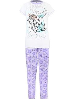 f07bacfa928 Amazon.com  Disney Little Mermaid Womens  Ariel Pajamas  Clothing