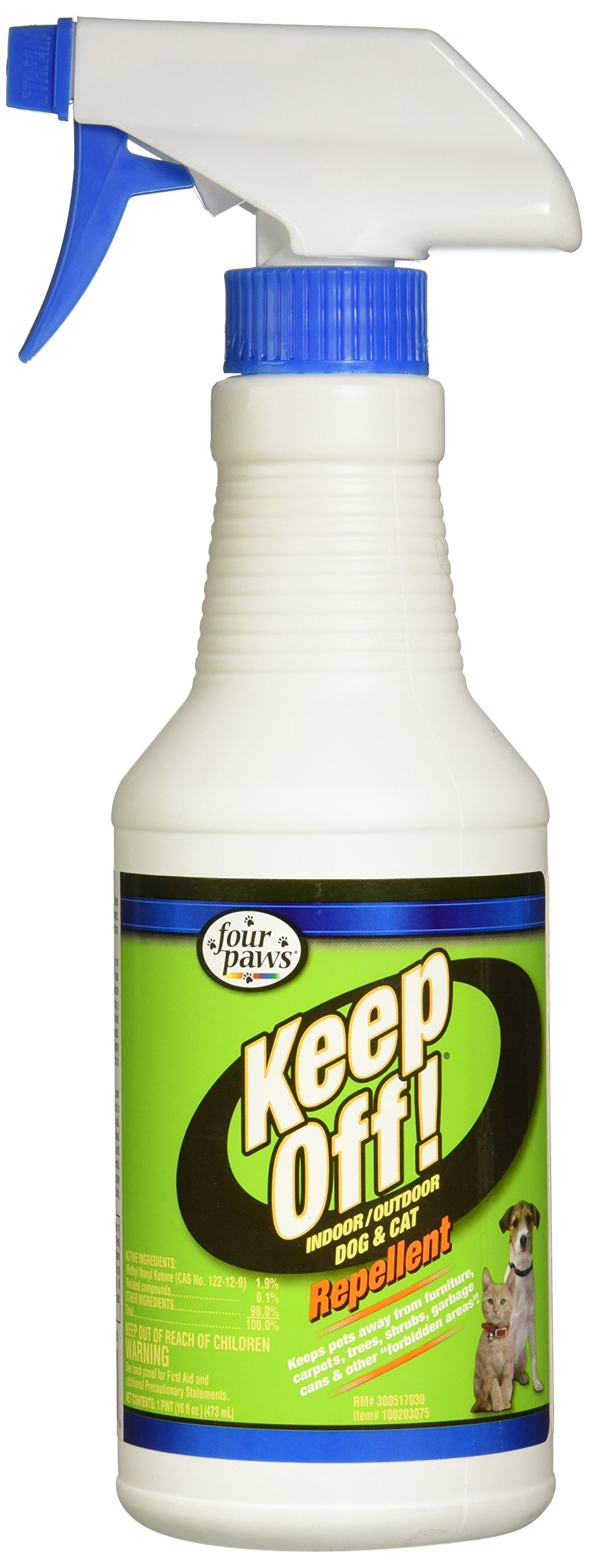 Four Paws Keep Off! Repellent 16-Ounce Spray