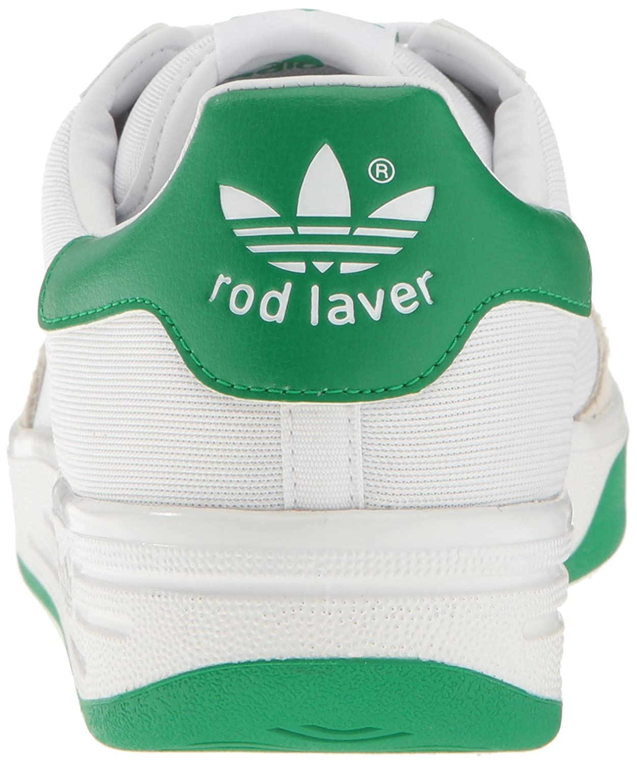 reputable site 848ef 7ec60 Amazon.com   adidas Originals Men s Rod Laver Super Running Shoe,  White Fairway, ((8 M US)   Fashion Sneakers