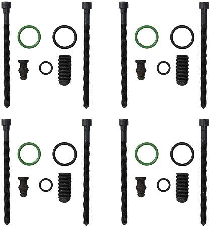 Set di 4 guarnizioni viti di dilatazione pompa ugello ugello iniettore per 2.0 TDI con codice motore BKD BLB AZV BRE BNA BRF BVF BVG
