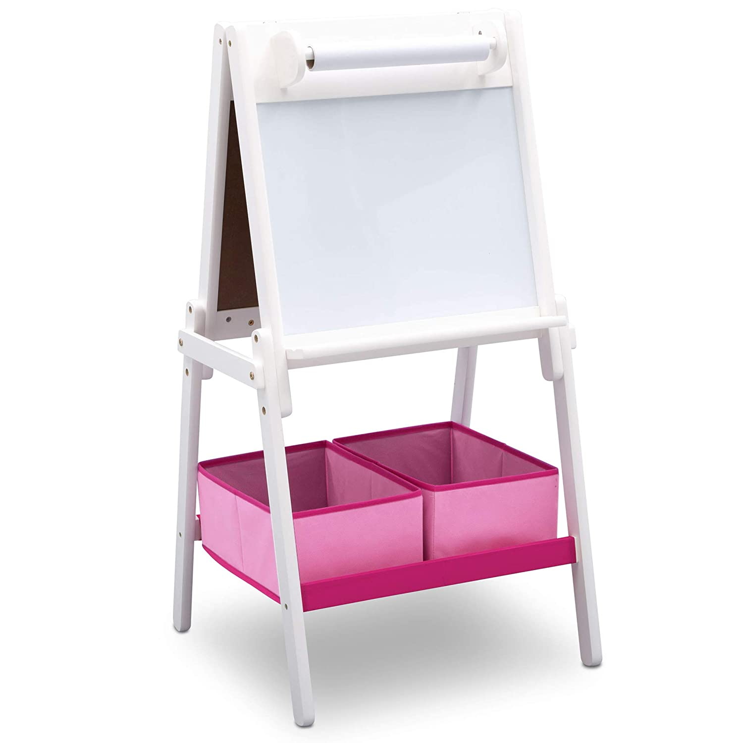 Delta Children Painted Wood Double Sided Easel - Grey Delta Children Products TE87600GN-026