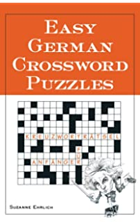 Easy German Crossword Puzzles Language German English And