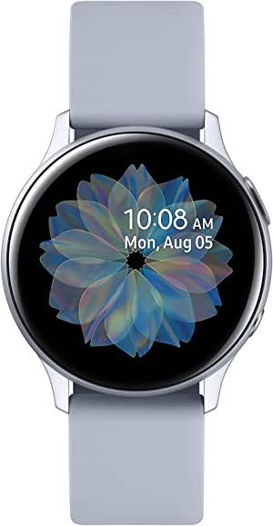 Samsung Galaxy Watch Active2 Aluminum with Bluetooth, 40mm, Cloud Silver
