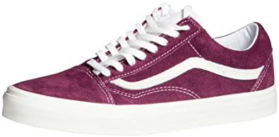 ffc7485a4c Image Unavailable. Image not available for. Colour  Vans Old Skool Mens  Shoes Trainers Grape Wine ...