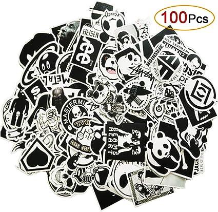 MiniMochi 100 Pack Pegatinas Coche, Graffiti Stickers Bomb ...