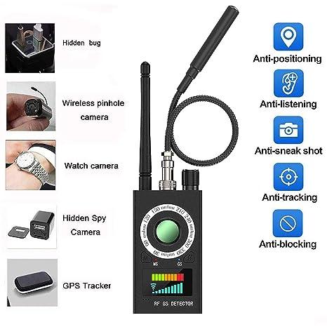 Amazon.com: Detector anti espía RF, detector de cámara ...