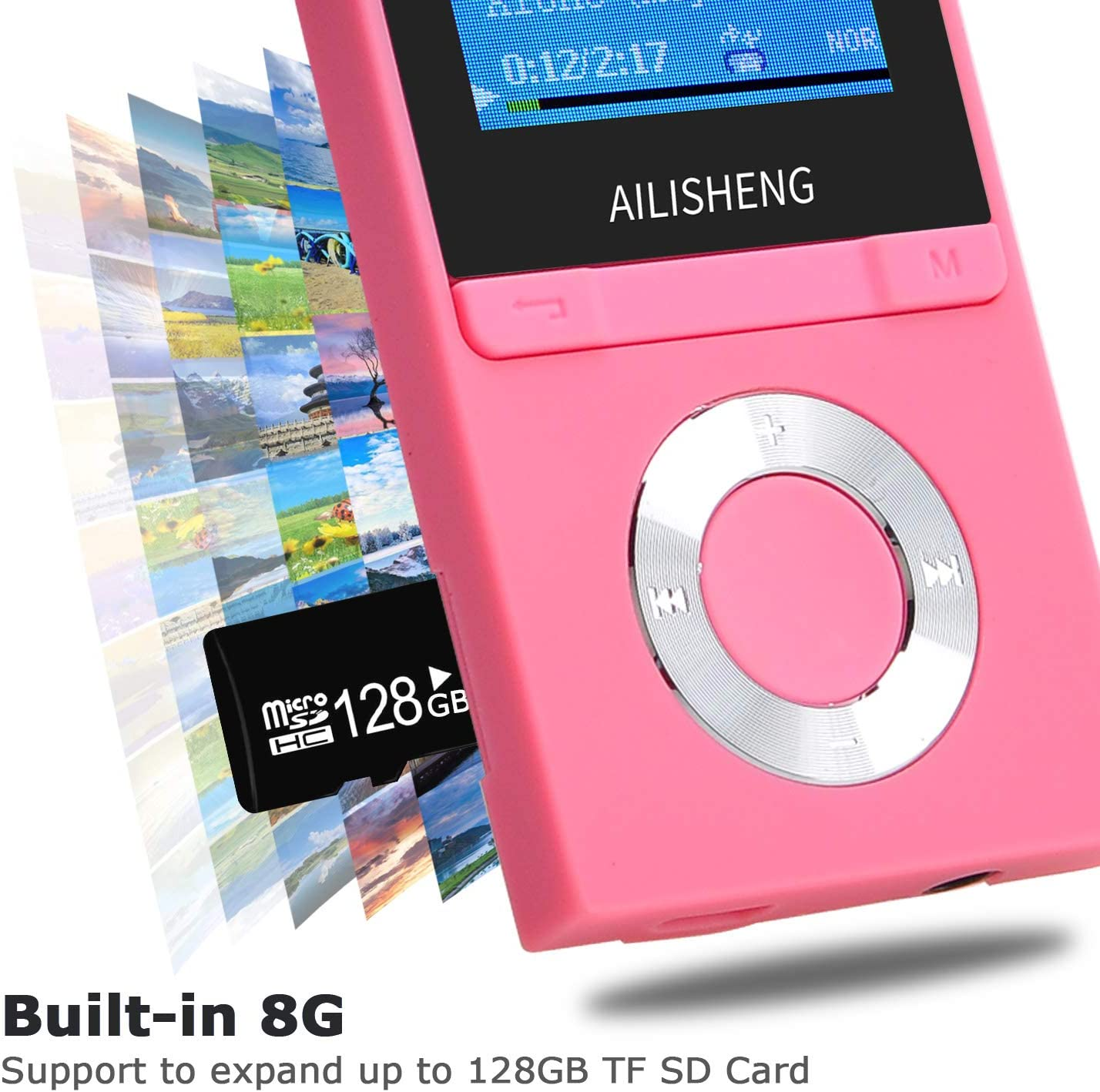 gaixample.org Voice Recorder Picture COVVY 8GB MP3 Player ...
