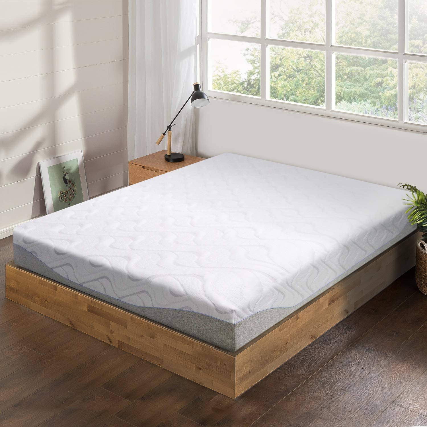 "Best Price Mattress 9"" Gel-Infused Memory Foam Mattress - Queen"
