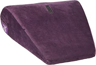 product image for Liberator Axis Hitachi Sex Positioning Pillow/Magic Wand Mount, Velvish Aubergine