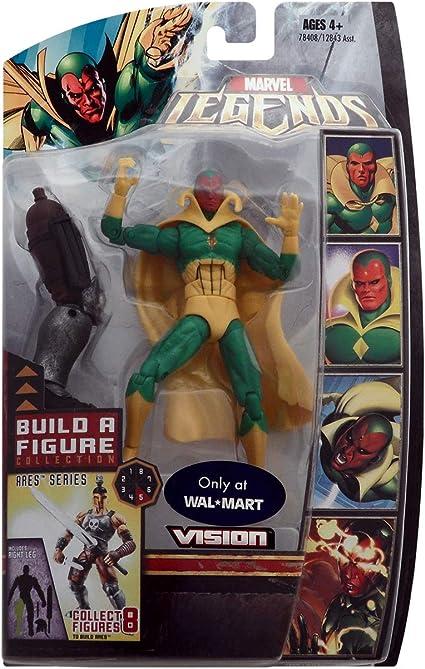 Marvel Legends Vintage Series Vision 6-Inch Action Figure