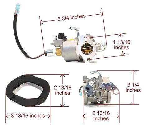 Amazon com: | Carburetor for Onan Cummins A041D736
