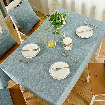 XUHAZI®Tablecloth Table runner einfach Einfarbig Tischdecken Tuch ...