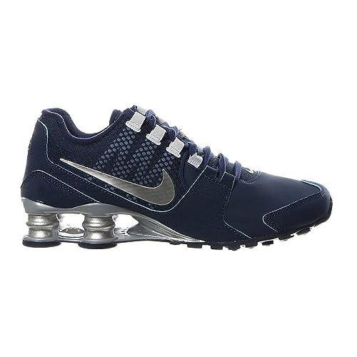 535611a631 Nike - Shox Avenue Se Donna, (Navy/Silver), 41 EU: Amazon.it: Scarpe ...