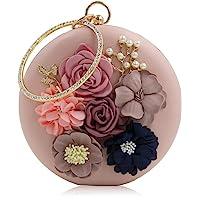 PARADOX (LABEL) Women's Flower Clutche (Rose Gold, KK17RGLD)
