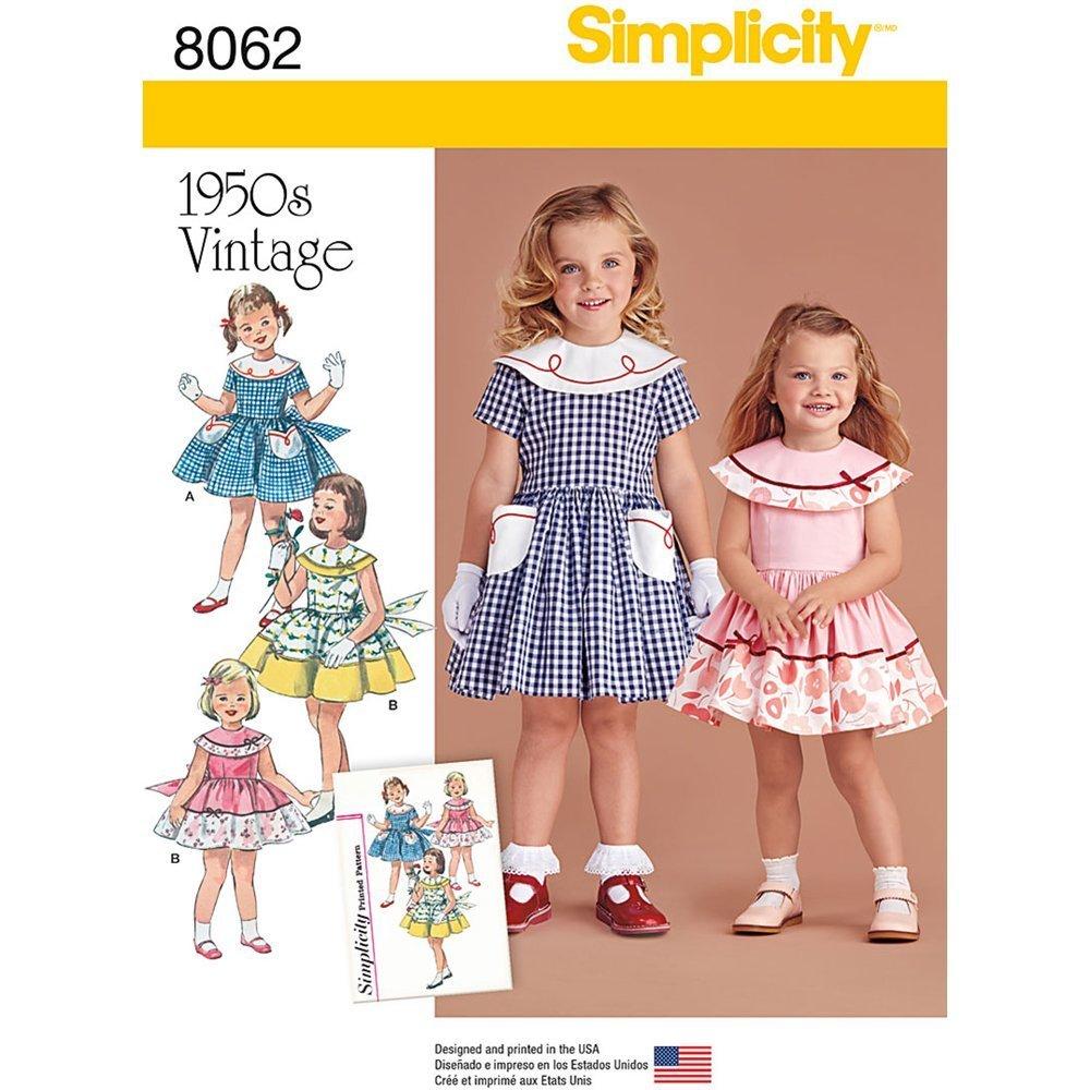 dc0dc9901a20 Amazon.com  Simplicity Vintage  Sewing Patterns