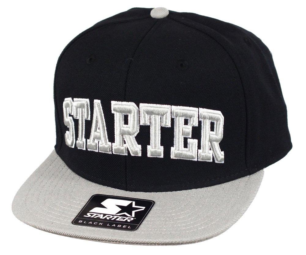 Starter-Gorra con visera plana para hombre, diseño de 2 College ...