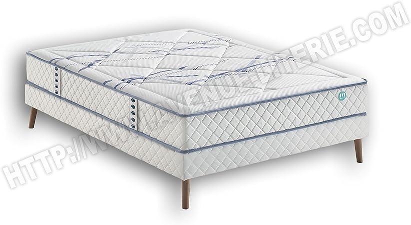 Conjunto Literie 140 x 190 com _ on Merinos: colchón com _ ...