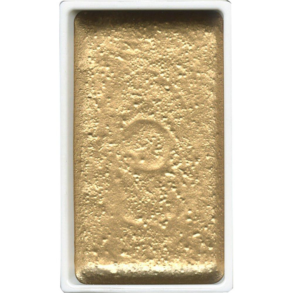 Kuretake : Gansai Tambi Japanese Watercolour : Gold : Large Pan by Amazon