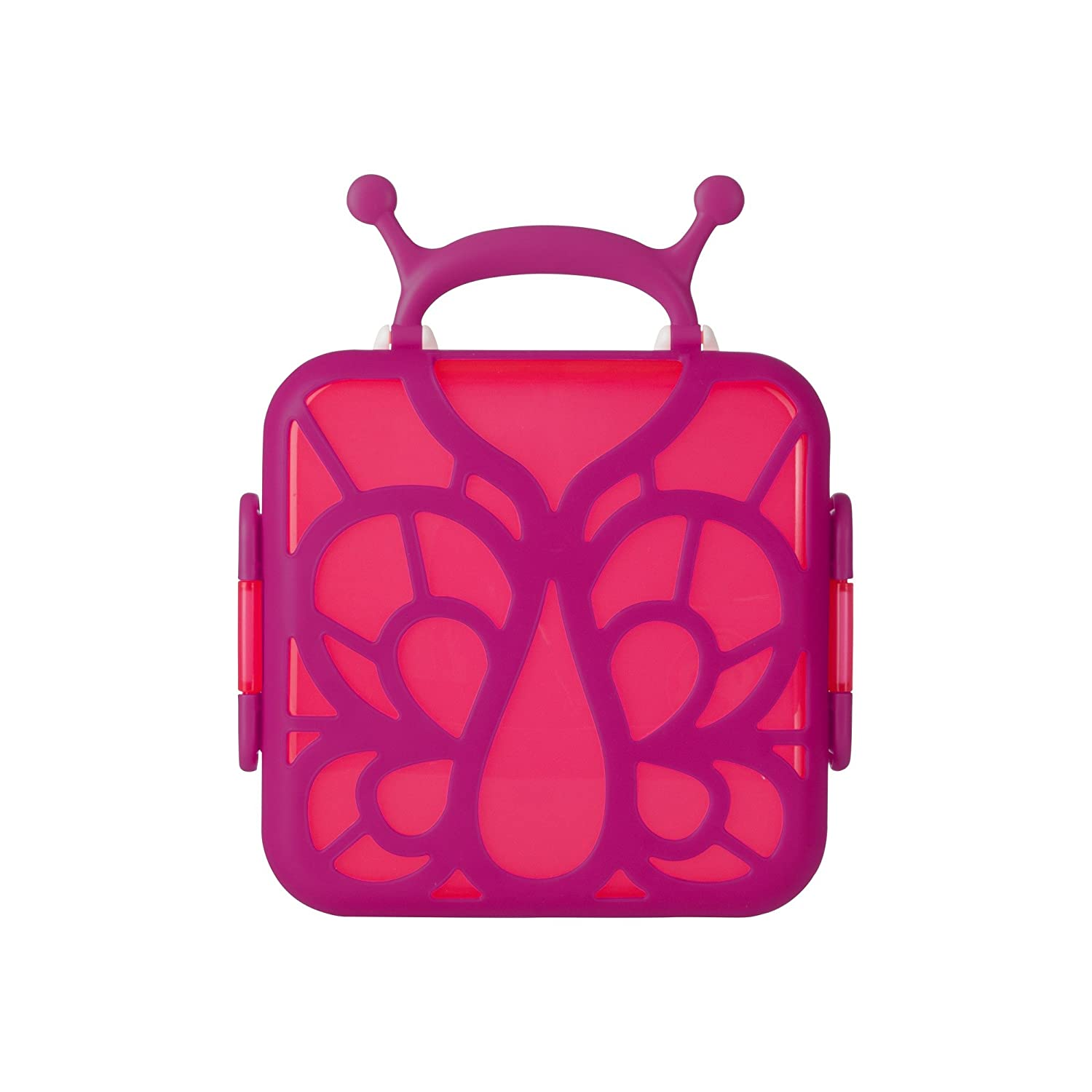 Boon Bento Lunch Box Pink Butterfly B11176