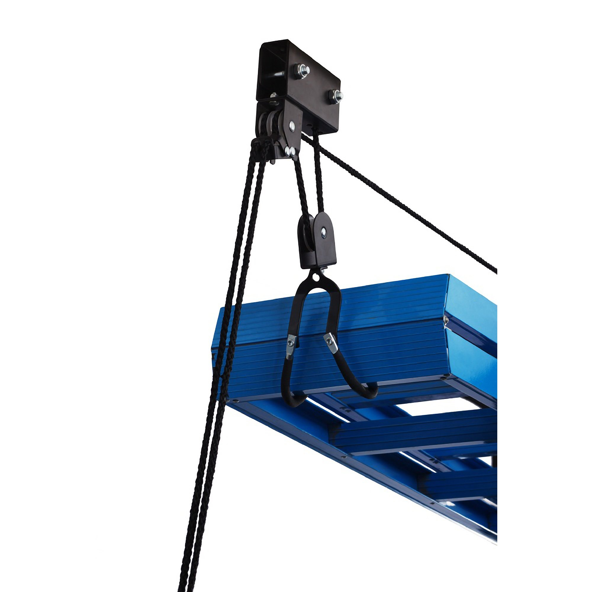 capacity lift hoist canoe storage product lb with pack system rad ladder premium pulley works kayak even sportz quality garage as
