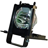 AuraBeam Mitsubishi WD-73640 TV Replacement Lamp with Housing