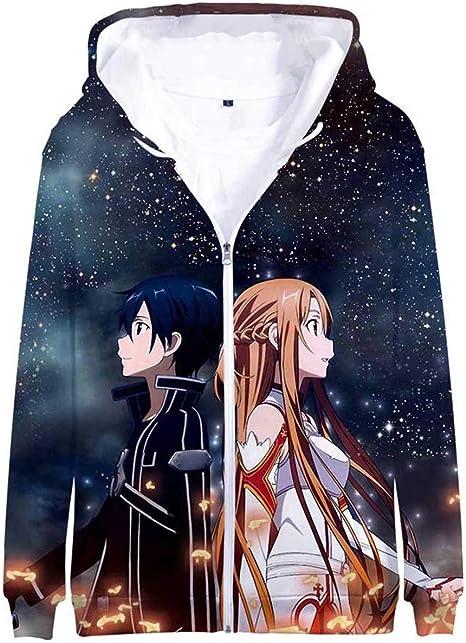 Sword Art Online Anime Kapuzen Sweatshirt Hoodie pullover Jacket Pulli Jacke