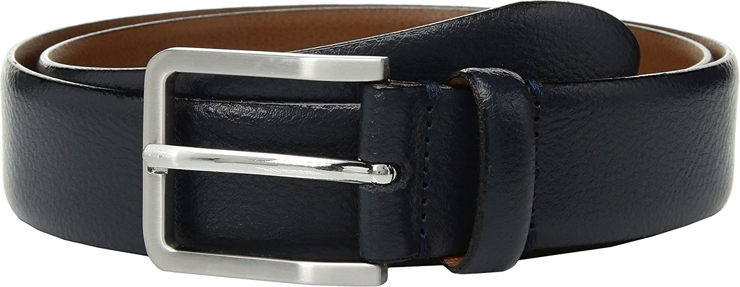 Johnston /& Murphy Mens Italian Feather Edge Navy 34